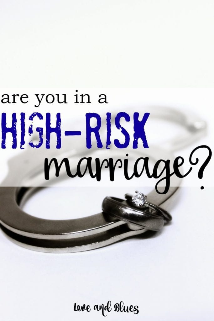 Woah. I knew police marriages were higher risk for divorce, but I didn't realize how high... and I never considered other things, like financial issues making you higher risk for divorce! These are great tips on taking care of a high risk marriage.