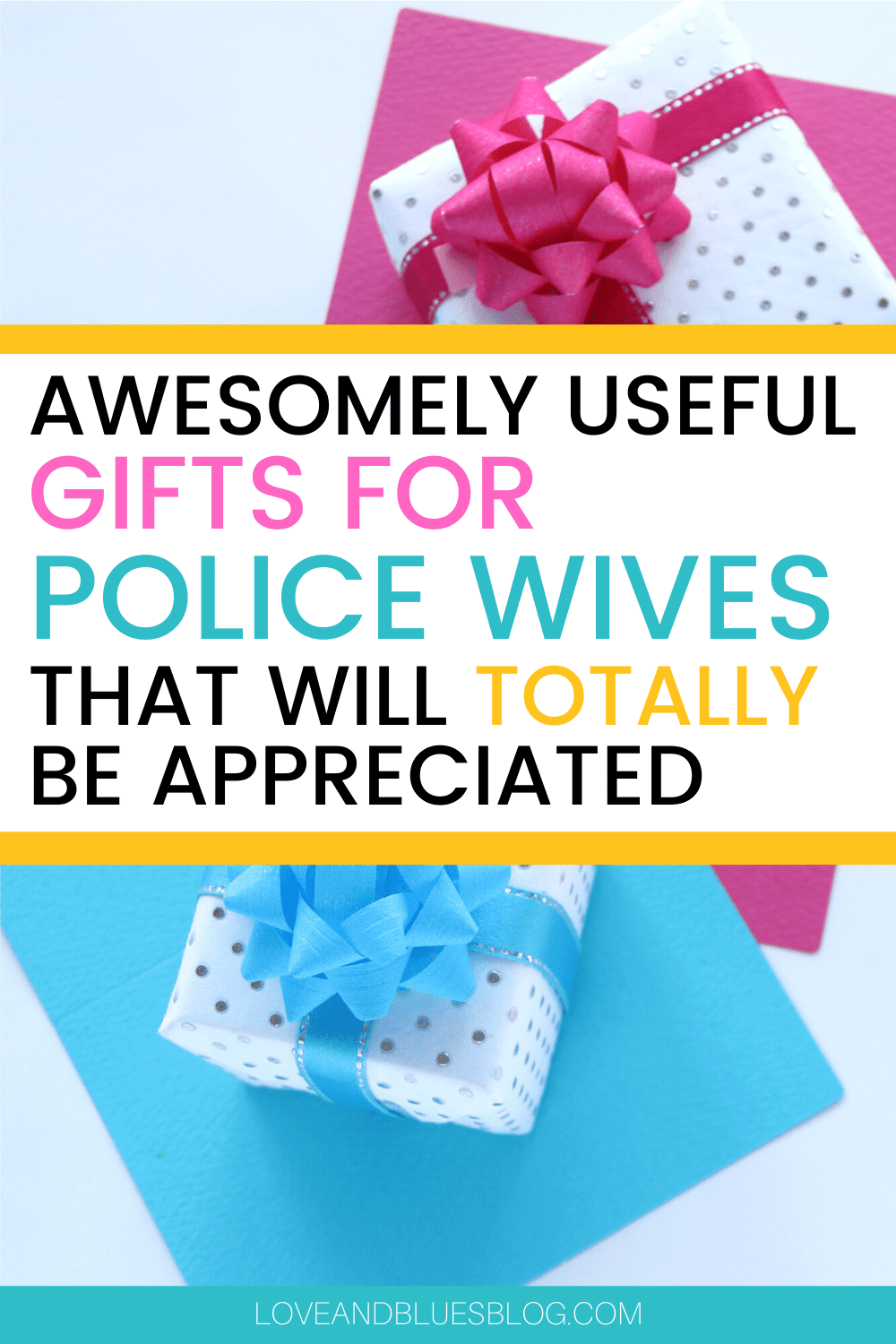 Such great ideas for police wife gifts! I think any woman would appreciate these though.