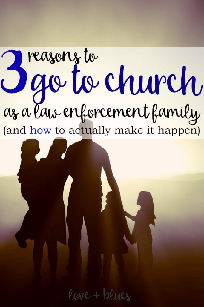 Love this! We need to make going to church more of a priority.