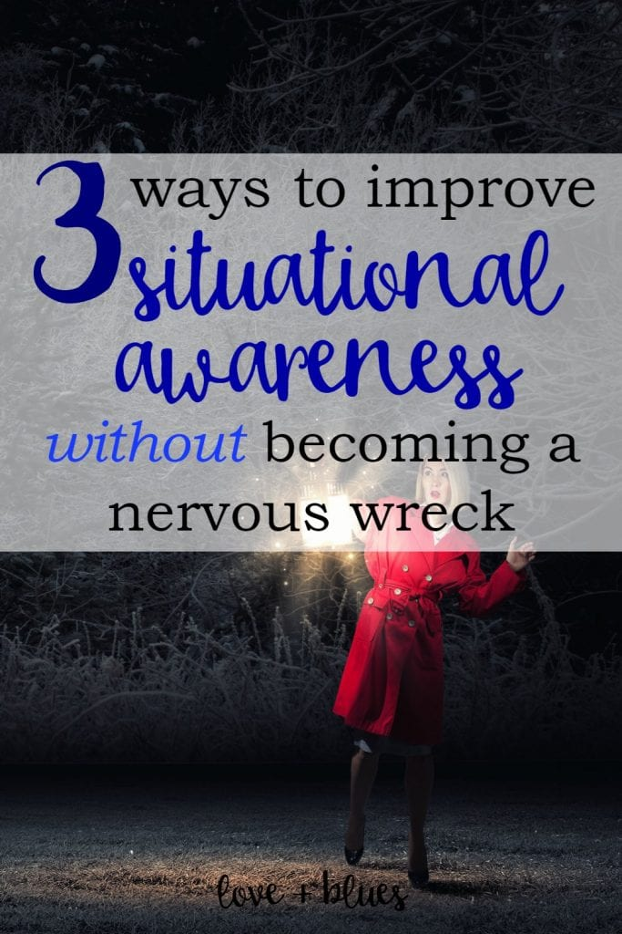 Yes, yes, yes! This is super important. If you want to concealed carry AT ALL as a woman, situational awareness is the #1 skill you need to hone.