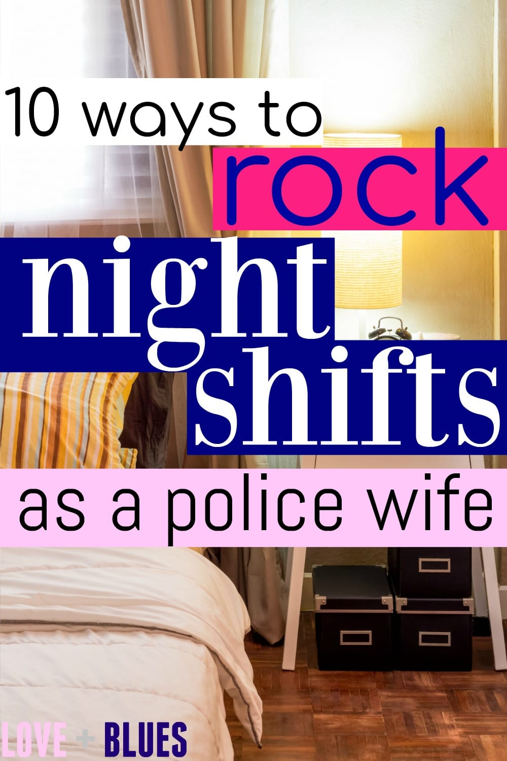 Not gonna lie it SUCKS when your husband works nights... but I love this. I'm kinda struggling right now with his night shift schedule but I want to learn to embrace it! Cuz it's not changing anytime soon lol. #policewifeproblems #policewifelife #lawenforcement