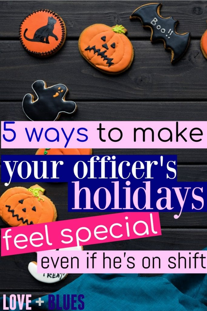 I'm totally sending a HUGE bag of candy corn to work with my LEO on Halloween ;) He loves them... and they're easy to eat on the go. Bummed we can't dress up together but oh well - #Policewife problems. lol.