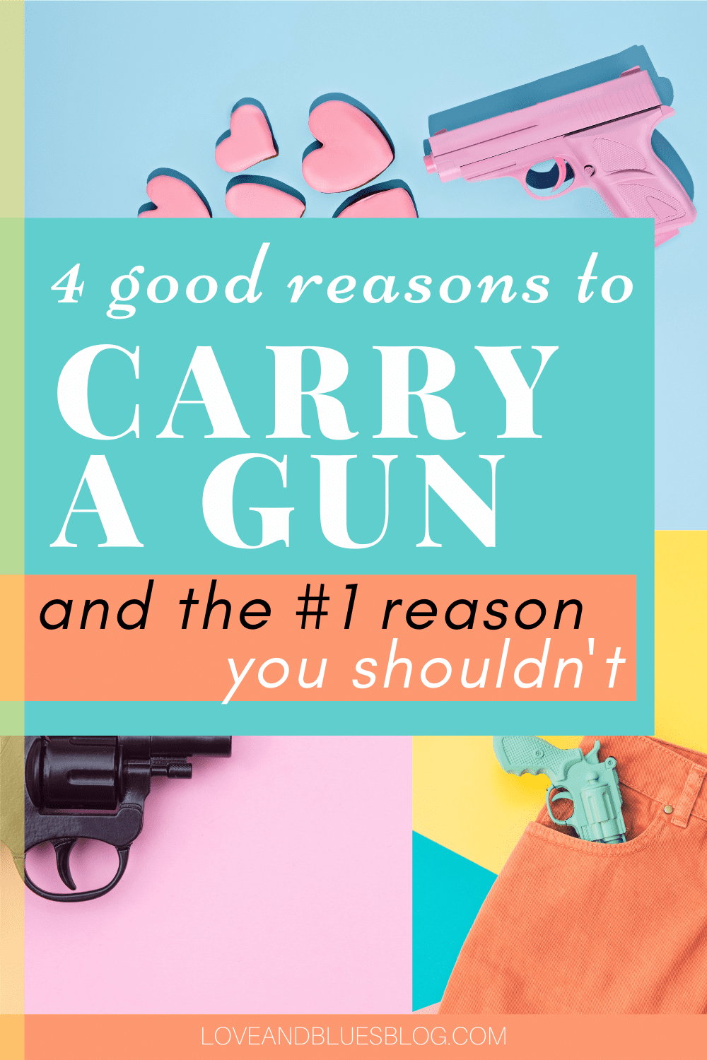 Love this! I've been on the fence about getting my concealed carry permit, but I'm gonna get it tomorrow. These are solid reasons to carry a gun.