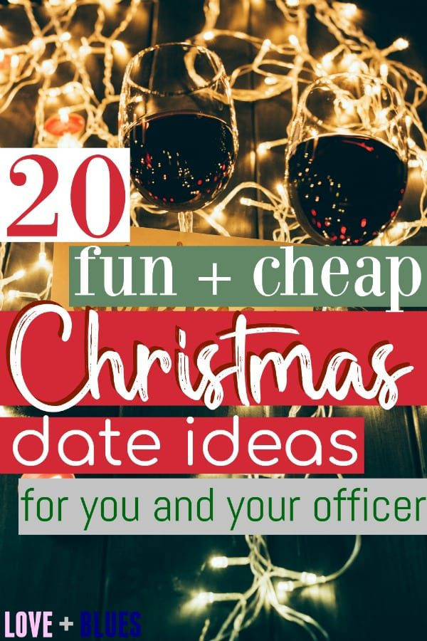 These are super fun Christmas date ideas! I mean honestly even if you're not an officer these are great ideas, but lots of them are super flexible. Perfect for police wives.