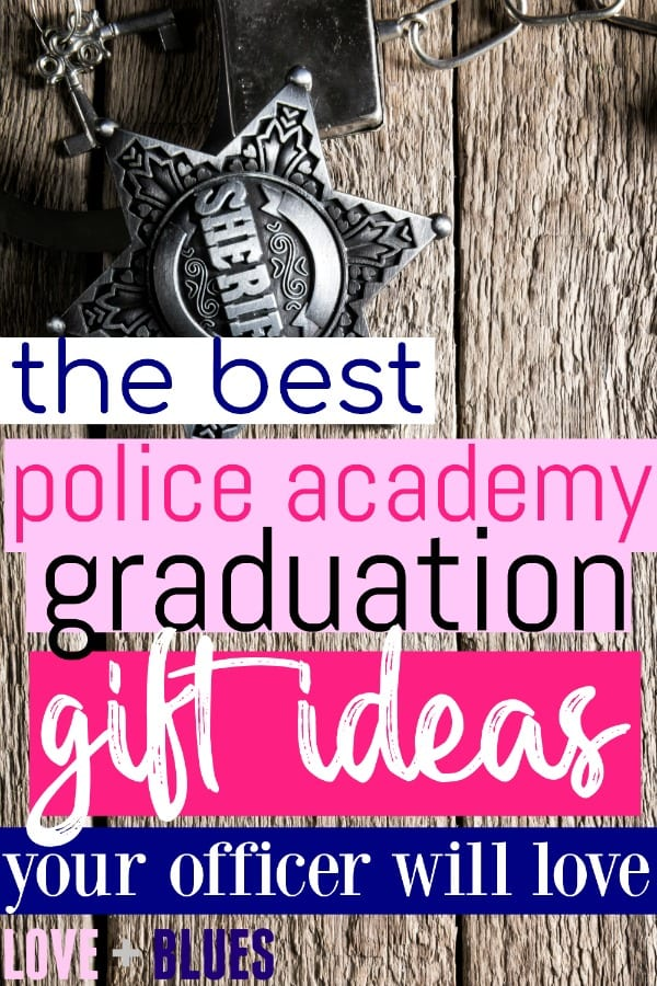 I've been searching for ideas for police academy graduation gifts for the past few weeks, and come up kinda empty. This is where I should have started!!