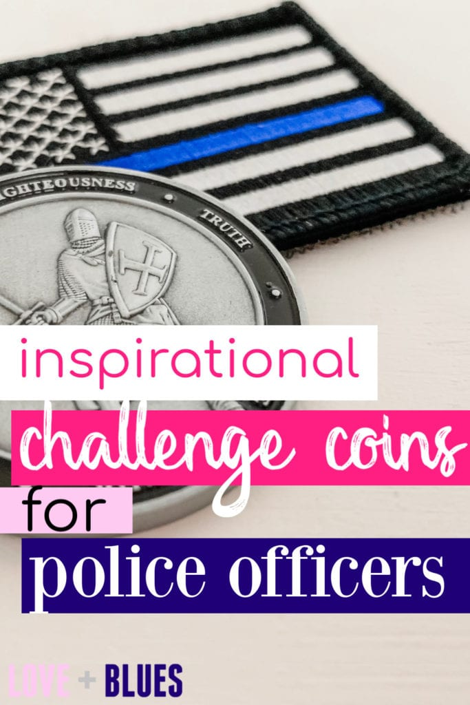 These are awesome police challenge coins to celebrate any occasion - police academy graduation, promotion.. whatever!