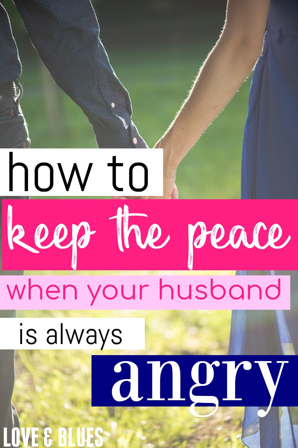 Great Christian-based marriage advice on what to do when it seems like your husband always angry! Very balanced between understanding and upholding your own boundaries.