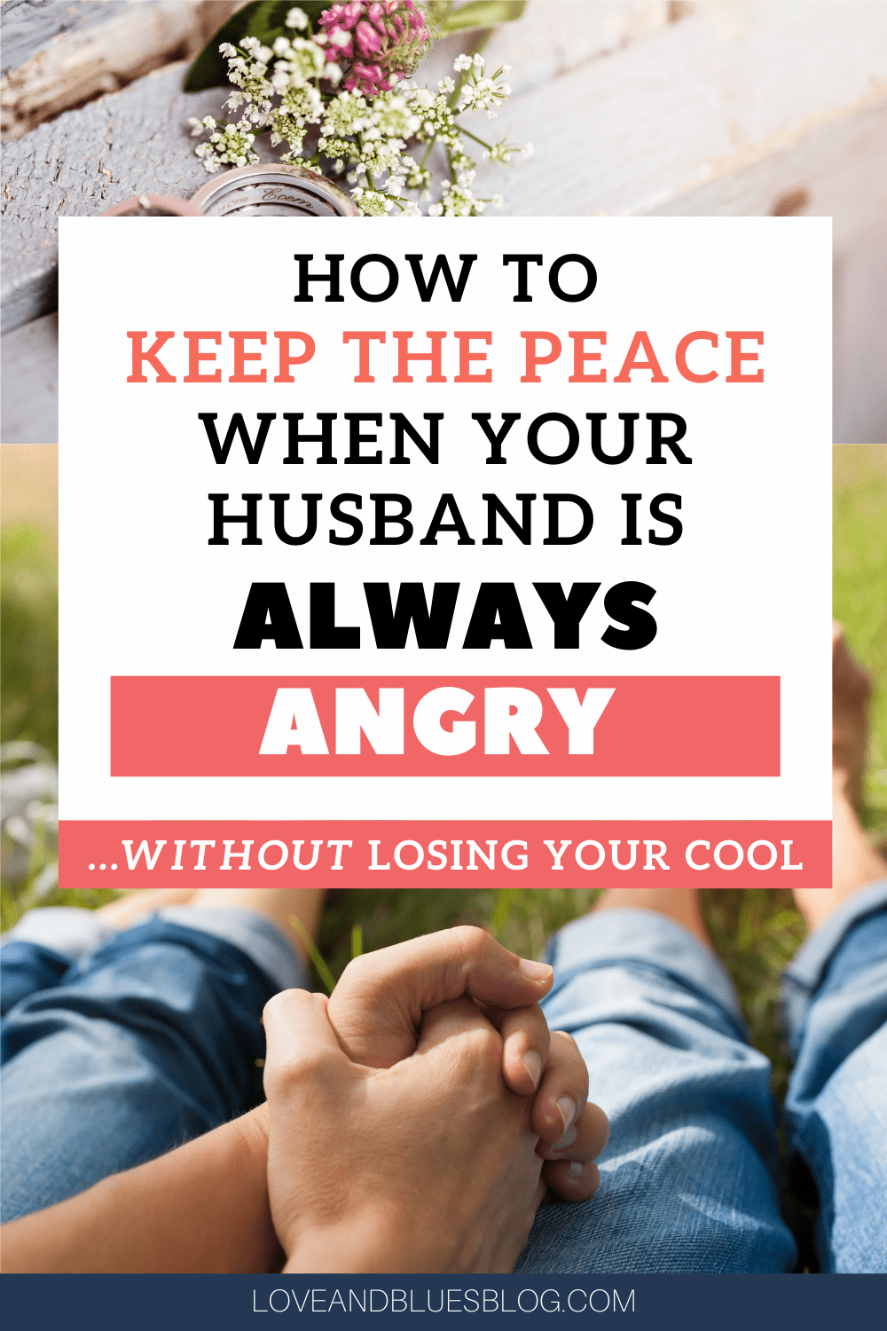 Great Christian-based marriage advice on what to do when it seems like your husband is always angry! Very balanced between being understanding and upholding your own boundaries.